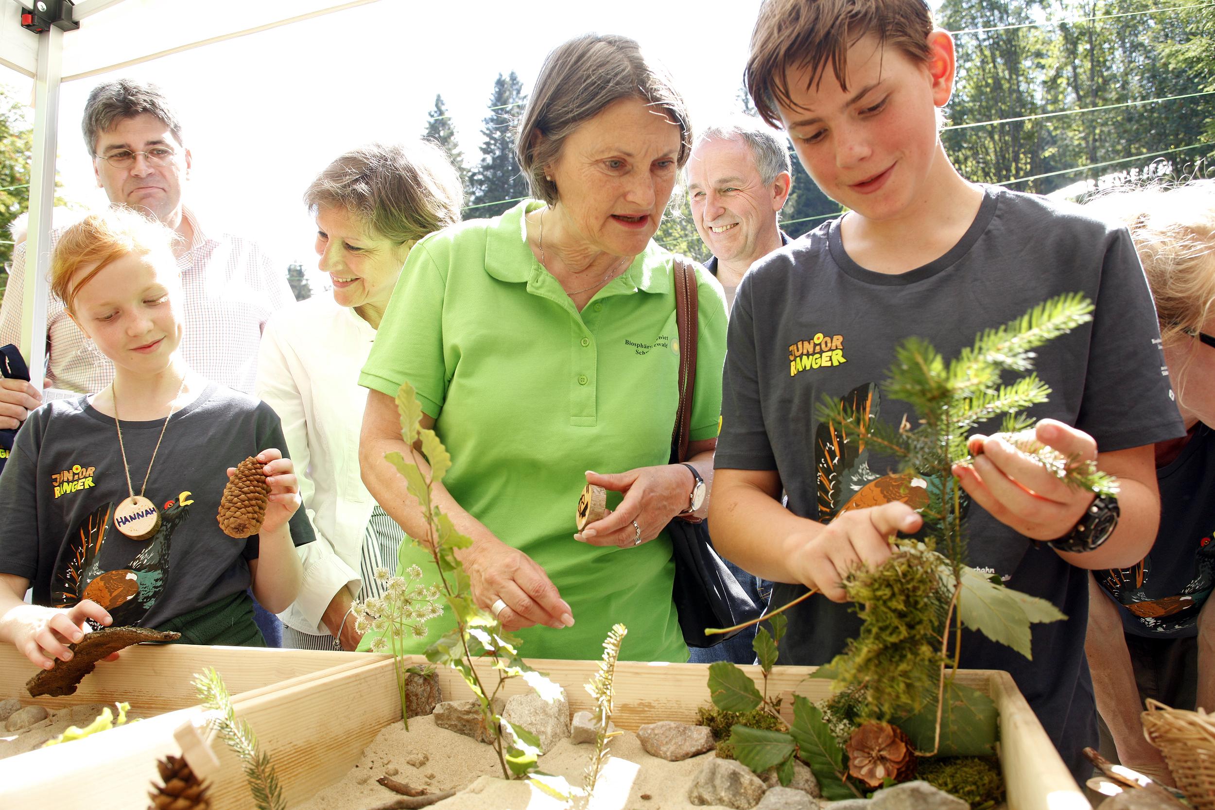 Mit Begeisterung für Natur und Umwelt: Rund 200 Kinder beim bundesweiten Junior-Ranger-Treffen in Bernau