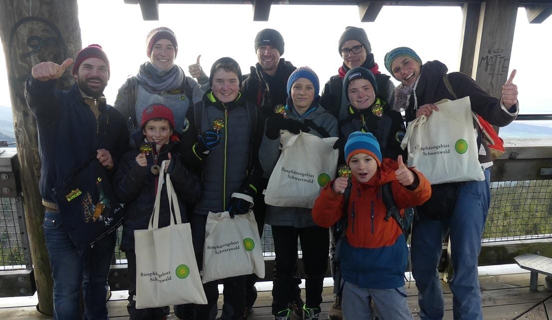 Junge Experten für Natur und Umwelt: Erste fünf Junior Ranger im Biosphärengebiet Schwarzwald ausgezeichnet