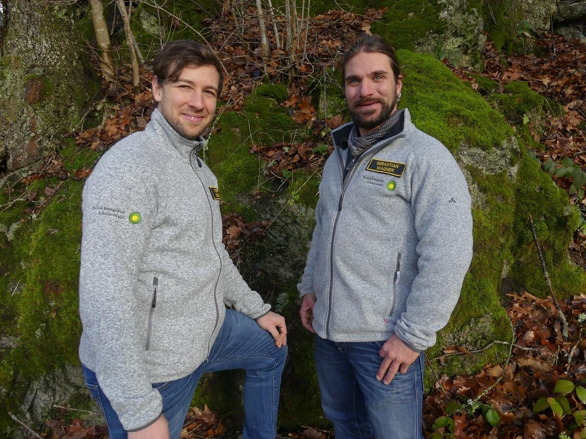 Traumberuf Schwarzwald-Ranger: Florian Schmidt und Sebastian Wagner haben im Biosphärengebiet ihre Arbeit aufgenommen