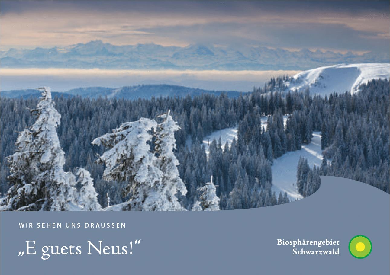Schöne Grüße aus dem Biosphärengebiet Schwarzwald: Erste Postkarten-Serie mit Dialekt-Sprüchen der Muettersproch-Gsellschaft erschienen
