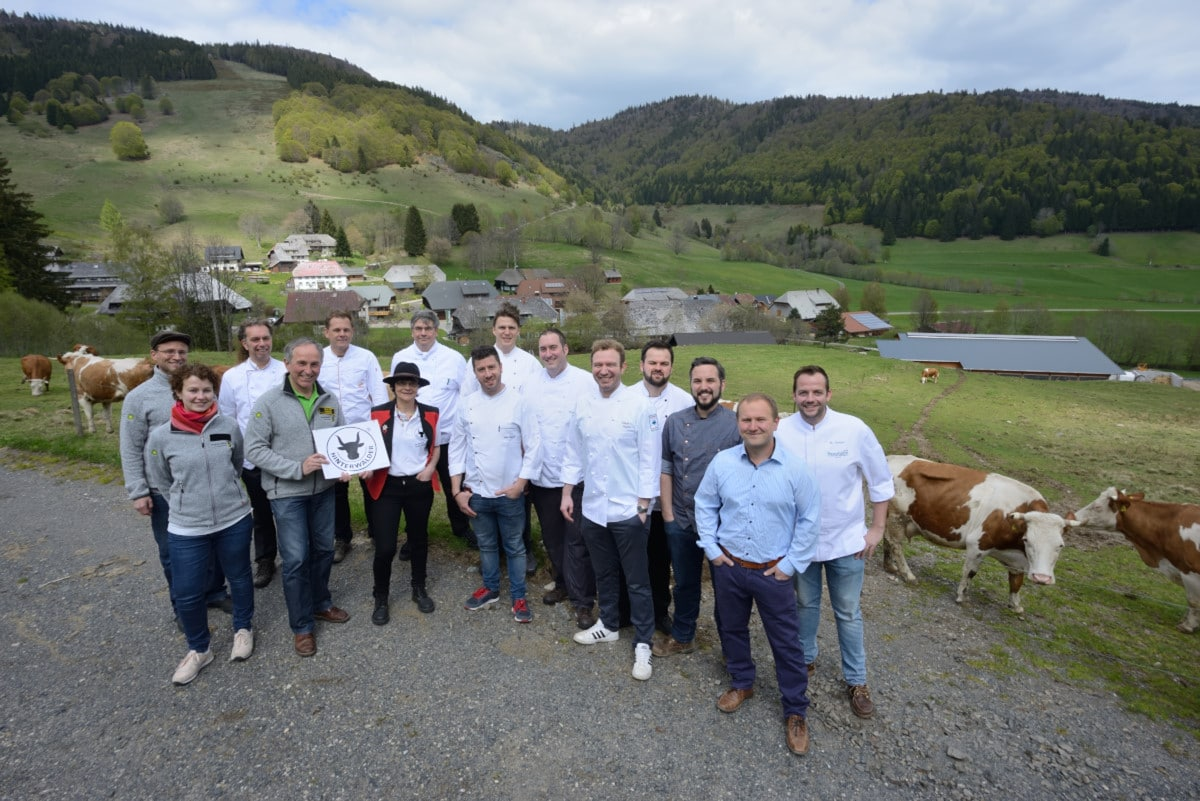 Mit Genuss die Landschaft erhalten: Biosphärengebiet startet Vermarktungsoffensive fürs Hinterwälder Rind