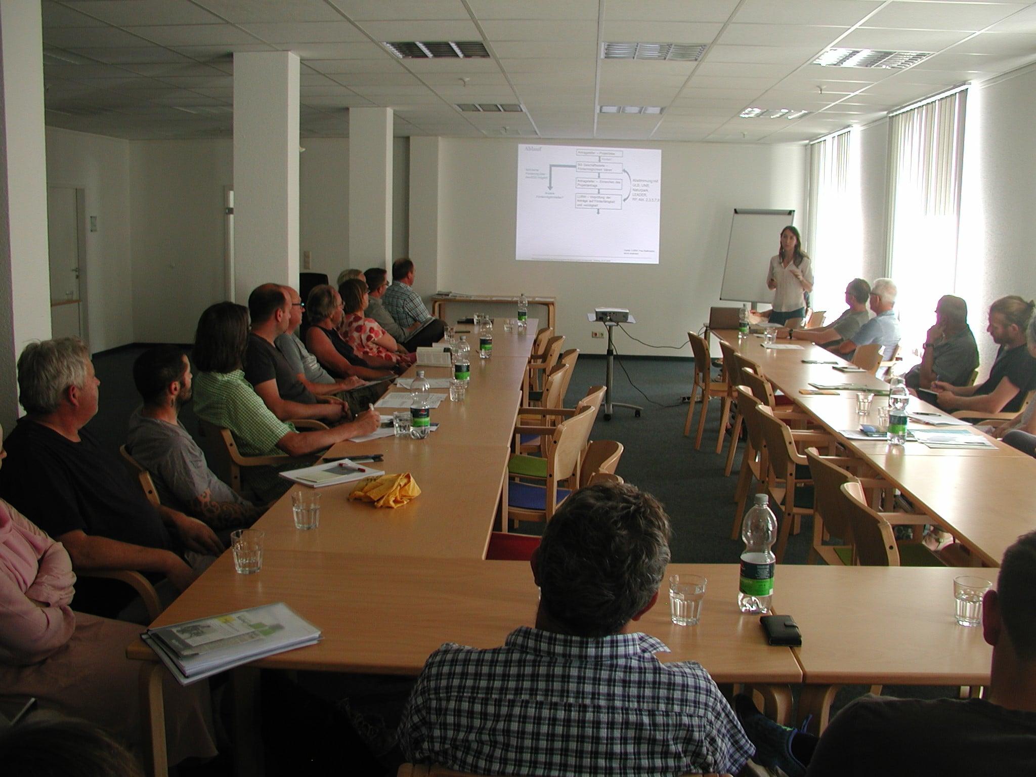 Team der Geschäftsstelle informiert über Fördermöglichkeiten im Biosphärengebiet Schwarzwald