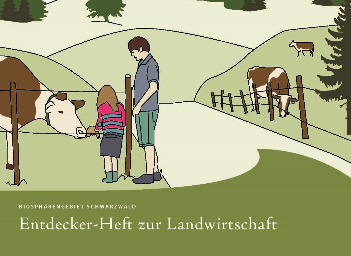 """Mit """"Gumpi"""" die Landwirtschaft im Schwarzwald entdecken: Biosphärengebiet stellt Entdeckerheft für Kinder vor"""