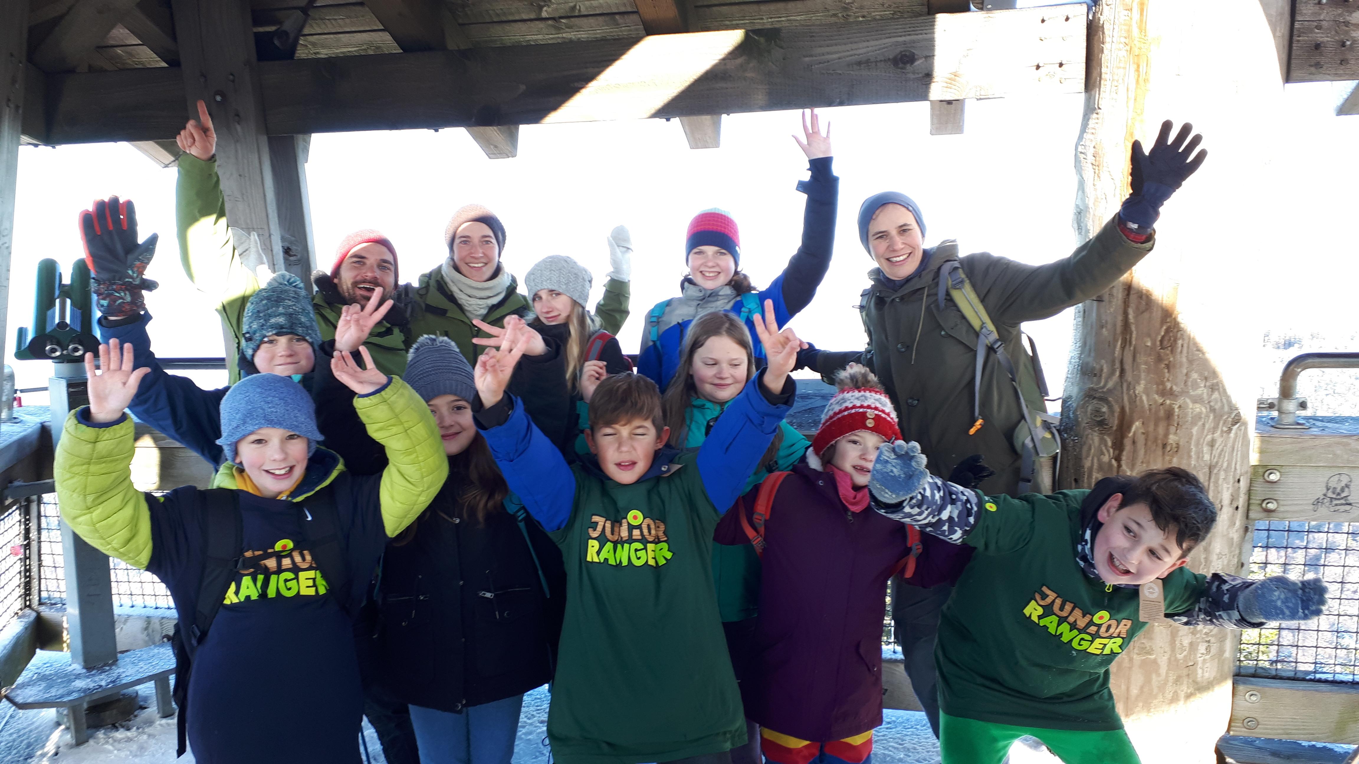 Neun neue Junior Ranger als junge Botschafter des Biosphärengebiets Schwarzwald